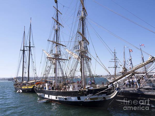 Photograph - Ships Of The Line by Brenda Kean