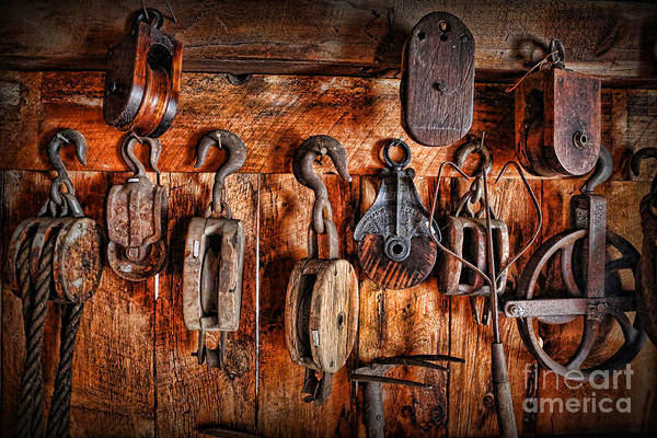 Wall Art - Photograph - Ship's Rigging by Lee Dos Santos