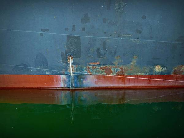 Photograph - Shipside Abstract IIi by Patricia Strand