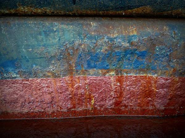 Photograph - Shipside Abstract by Patricia Strand