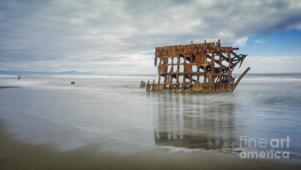 Photograph - Shipwreck by Carrie Cole