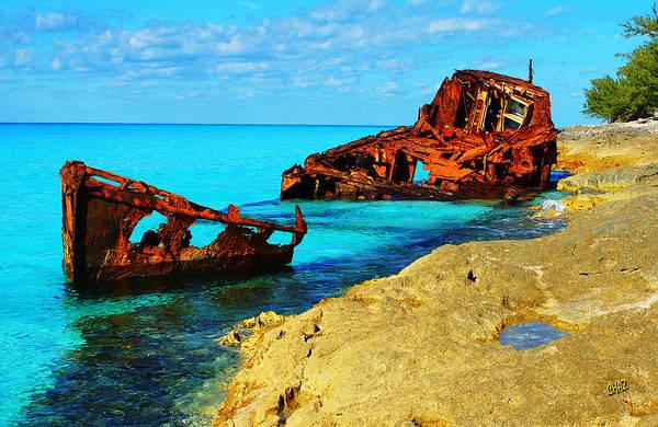 Shipwreck Digital Art - Shipwreck by CHAZ Daugherty