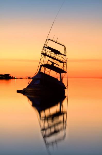 Photograph - Shipwrecked In Navarre V by JC Findley