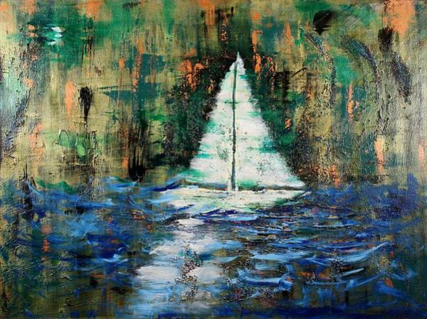 Painting - Shipwrecked by Nan Bilden