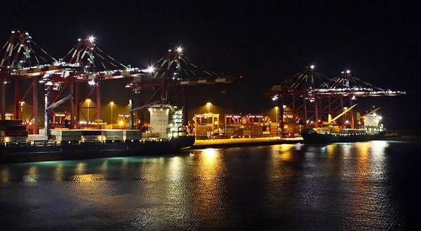 Photograph - Shipyards 2 Callao Port Lima Peru by Kurt Van Wagner
