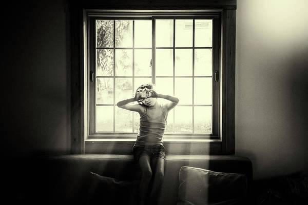 Sepia Photograph - Shira by Avi Morag