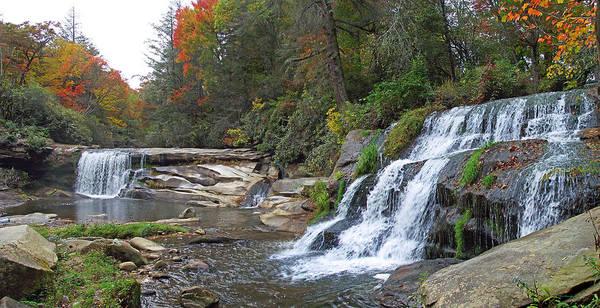 Photograph - Shoal Creek Area Waterfalls by Duane McCullough