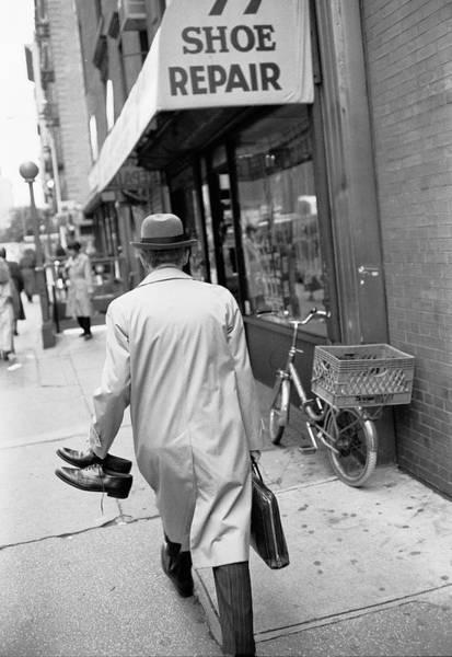 Photograph - Shoe Repair by Dave Beckerman