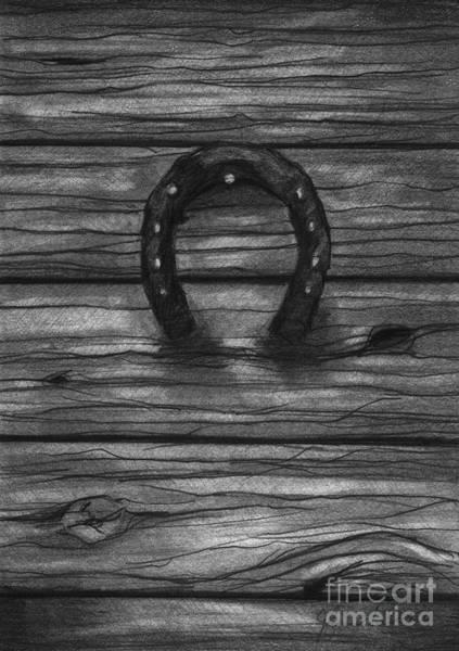 Hoof Drawing - Shoes Of Horses by J Ferwerda