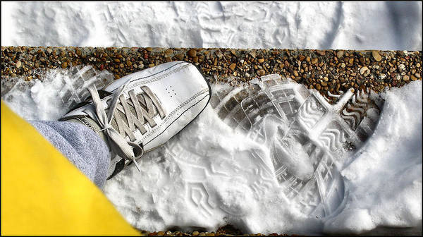 Photograph - Shoestairsnowcomp2 2009 by Glenn Bautista