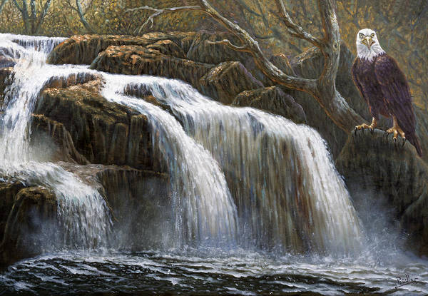 Wall Art - Painting - Shohola Falls by Gregory Perillo