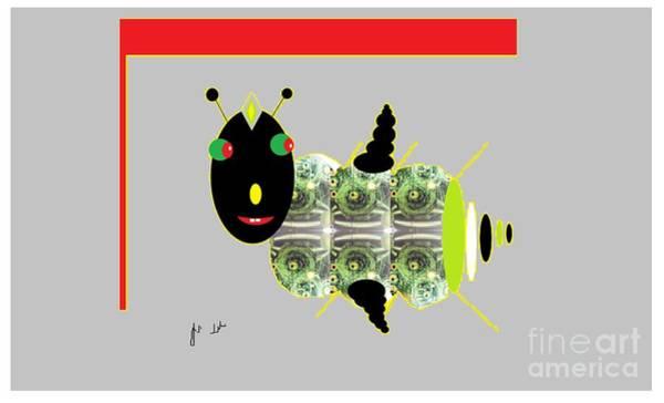 Digital Art - Shoofly by Ann Calvo