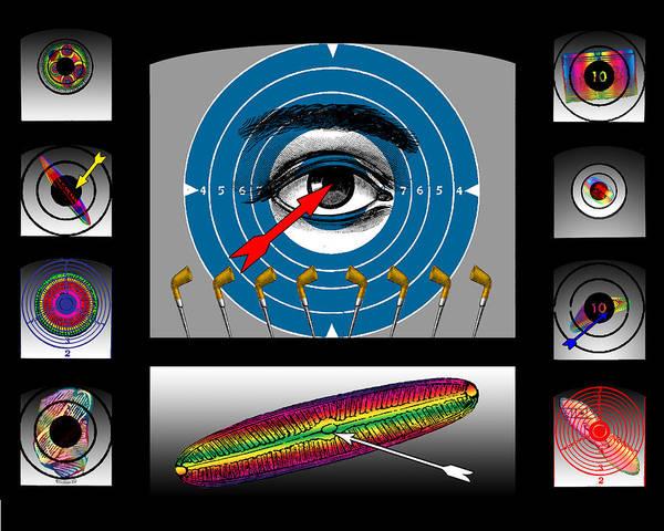 Digital Art - Shooting Gallery II by Eric Edelman