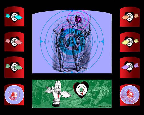 Digital Art - Shooting Gallery Iv by Eric Edelman