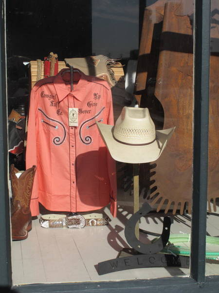 Photograph - Hays Kansas - Shop Window by Frank Romeo