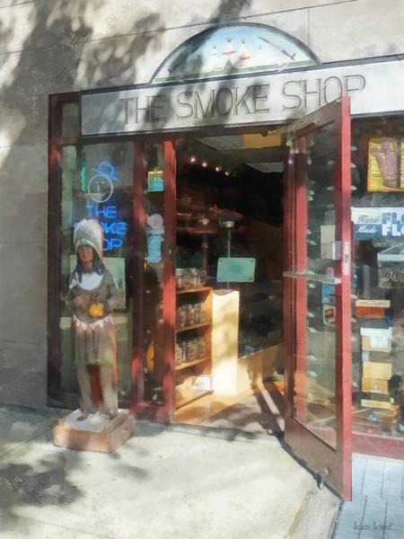 Photograph - Shopfronts - Smoke Shop by Susan Savad