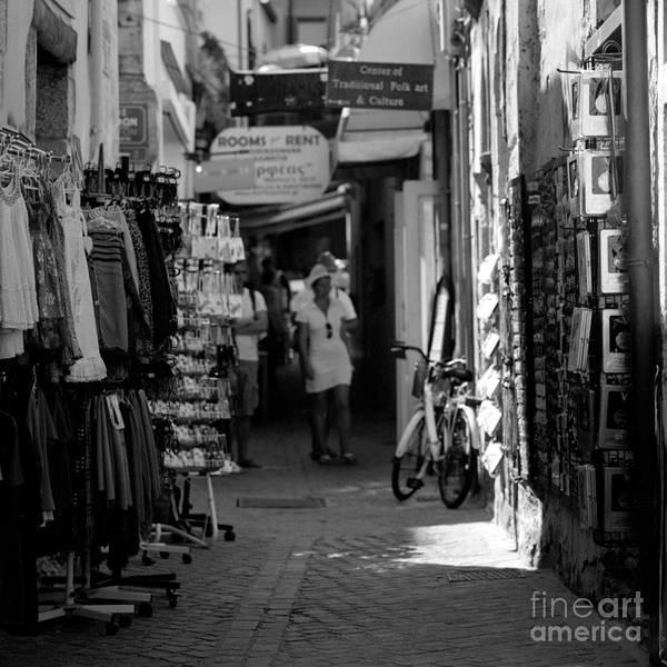 Photograph - Shopping In Chania by Paul Cowan