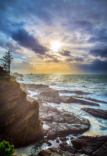 Wall Art - Photograph - Shore Acres Storm by Robert Bynum