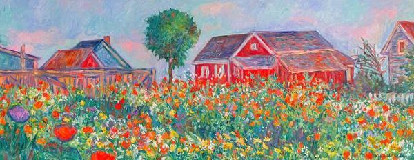 Painting - Shore Flowers by Kendall Kessler
