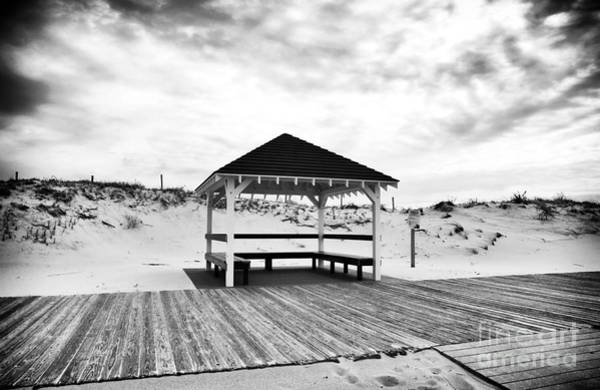 Down The Shore Photograph - Shore Shelter by John Rizzuto