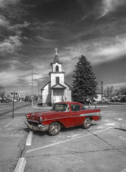 Photograph - Short Red Ride by HW Kateley
