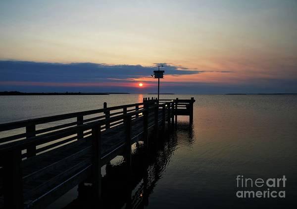Photograph - Short Walk On A Long Pier by Mel Steinhauer