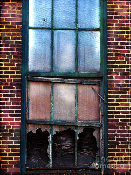 Condemned Wall Art - Photograph - Shot Out  by Colleen Kammerer