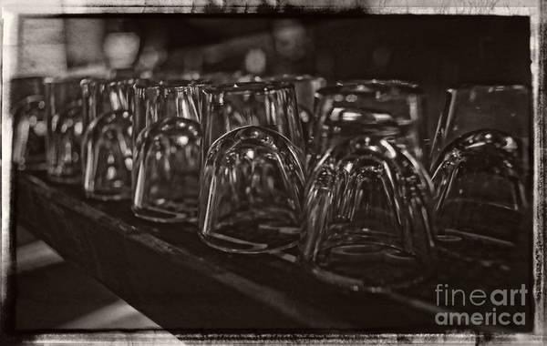 Photograph - Shotglasses by Jeff Breiman