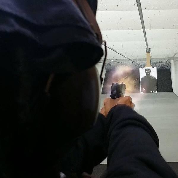 Handguns Photograph - #shotsfired #45cal #gunporn by Crook Bladez