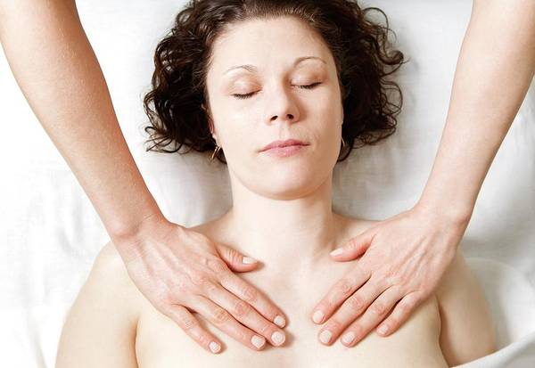 Therapy Photograph - Shoulder And Chest Massage by Thomas Fredberg