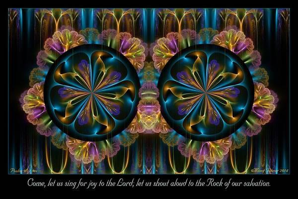 Digital Art - Shout Aloud by Missy Gainer