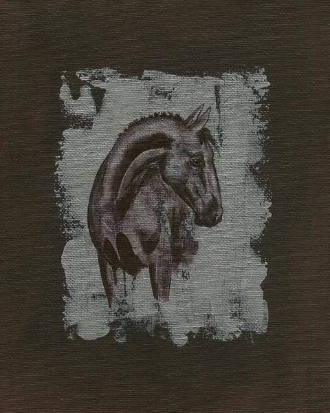 Painting - Show Horse by Konni Jensen