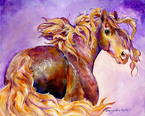 Painting - Show Off by Sherry Shipley