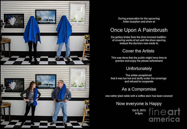 Photograph - Show Opening Promo by Michael Arend