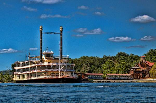 Photograph - Showboat Branson Belle Branson Missouri by Tim McCullough