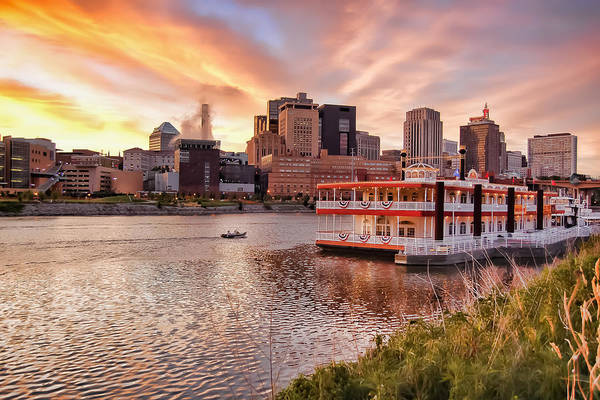Wall Art - Photograph - Showtime - St. Paul, Mn And The Mississippi River by Near and Far Photography