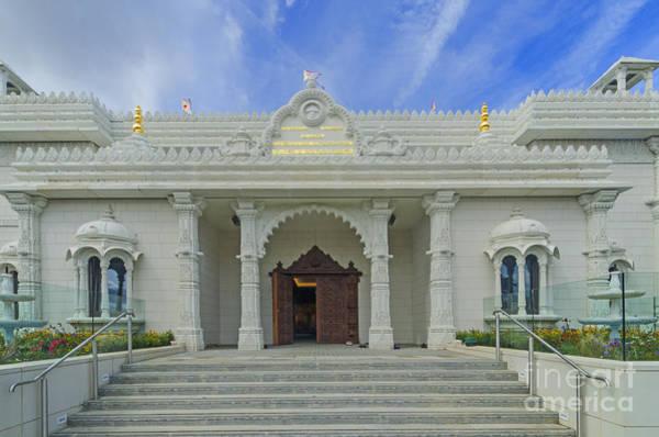Shree Wall Art - Photograph - Shree Swaminarayan Mandir Temple by Chris Thaxter