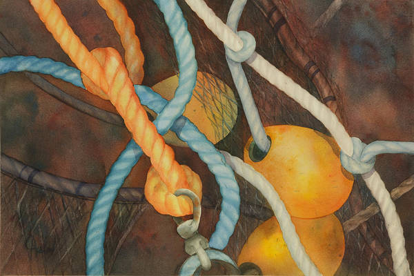 Painting - Shrimp Boat - Out Of Service  II by Johanna Axelrod