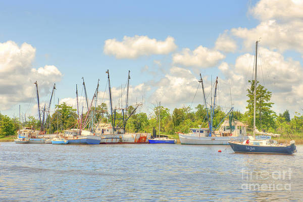 Photograph - Shrimp Boats In Georgetown Sc by Dale Powell