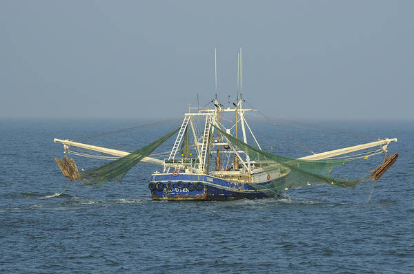 Photograph - Shrimp Trawler by Bradford Martin