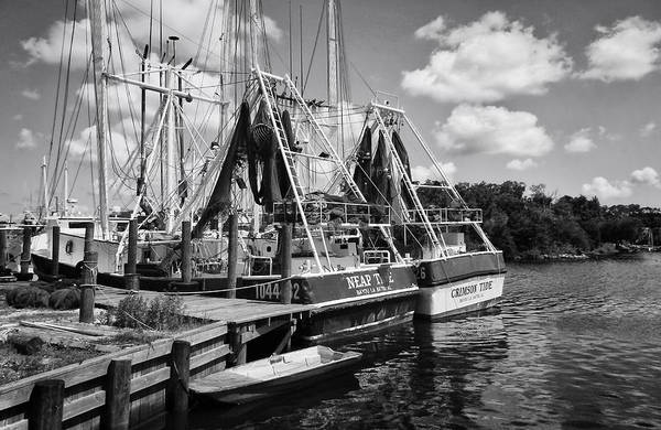 Photograph - Shrimpin Boats by Ben Shields