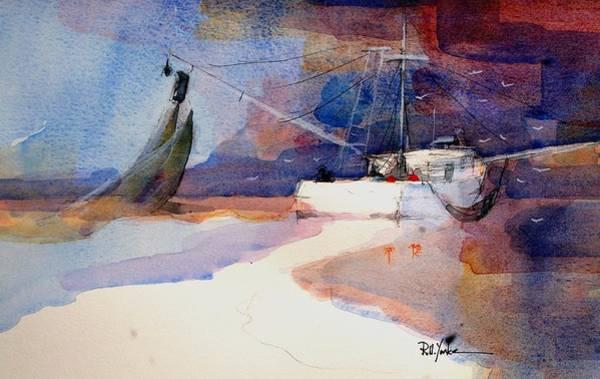 Shrimp Painting - Shrimpin' II by Robert Yonke