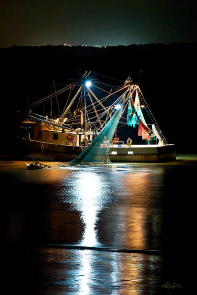 Photograph - Shrimping Tybee Style by Renee Sullivan