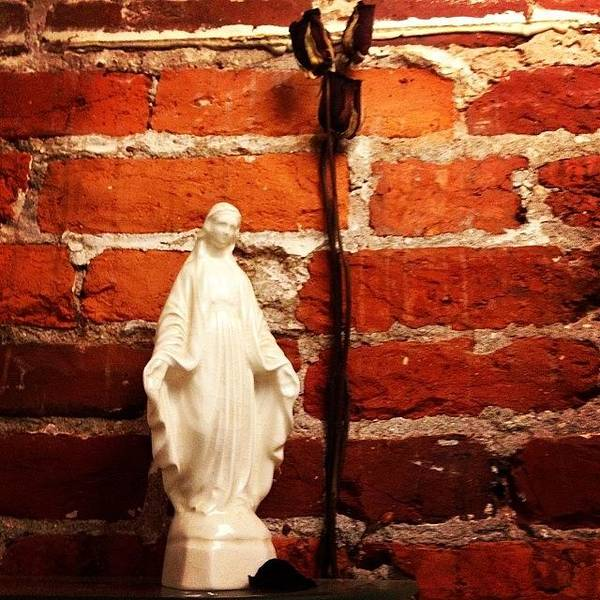 Salvation Wall Art - Photograph - Shrine In The Throne Room. #clubkerrl by Coyle Glass