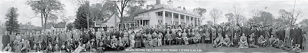 Delegation Photograph - Shriners Delegation Mount Vernon Va by Fred Schutz Collection