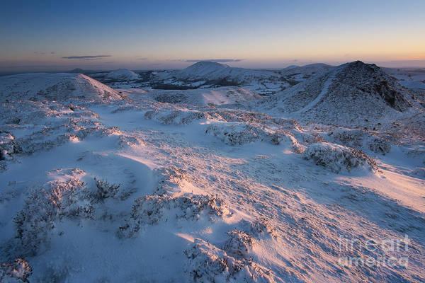 Church Stretton Photograph - Shropshire Winter Sunrise by John Hayward
