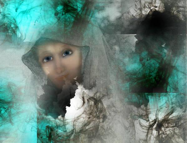 Wall Art - Digital Art - Shroud Of Truth by Patricia Motley
