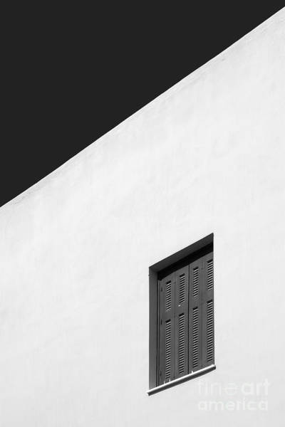 Shutter Photograph - Shuttered Window by Rod McLean