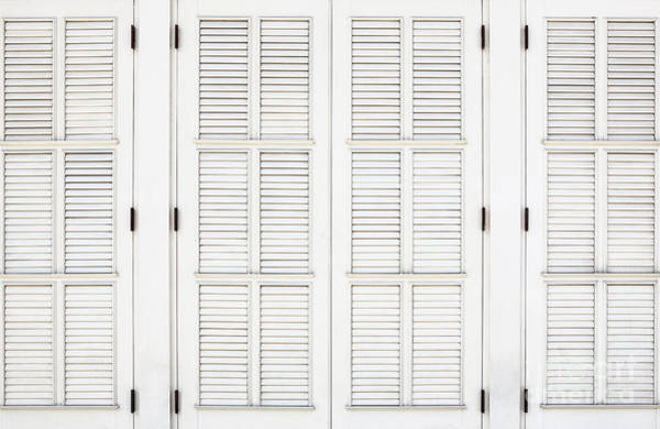 Photograph - Shutters In Ponce by Bryan Mullennix