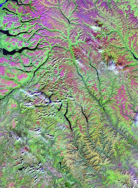 Wall Art - Photograph - Siberian Traps by Nasa/science Photo Library